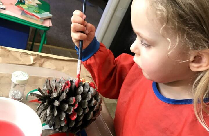 Fall art activities for preschoolers